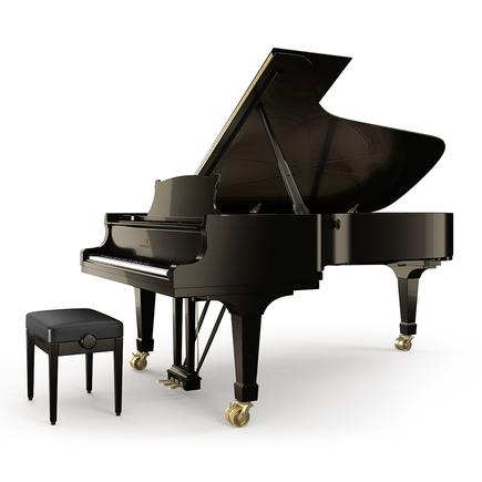 pianoles op een vleugel